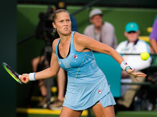 Американская теннисистка Роджерс: хочу испытать на себе удары Рублева