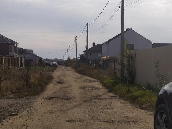 В Калуге в аренде у коммерческой компании оказалась дорога к жилым домам