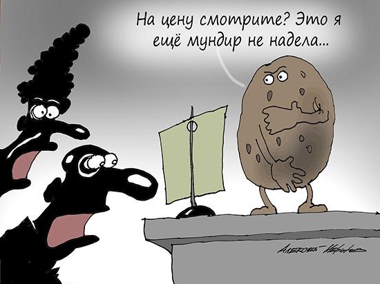 Позор страны: российская картошка подорожала втрое