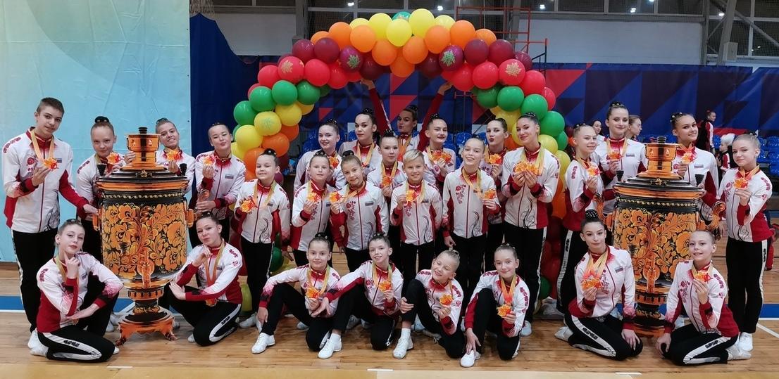 Участие во всероссийских соревнованиях приняли юные спортсмены по аэробике из Пскова, фото-2