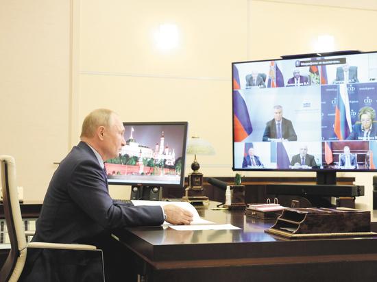 На Совбезе заинтересовались состоянием президента