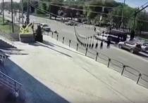 В Астрахани на ул