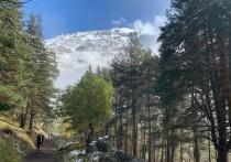 Югорские биатлонисты тренируются в Приэльбрусье