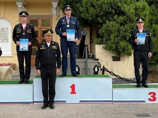 Заполярные военные заняли второе место на чемпионате ВМФ по офицерскому троеборью