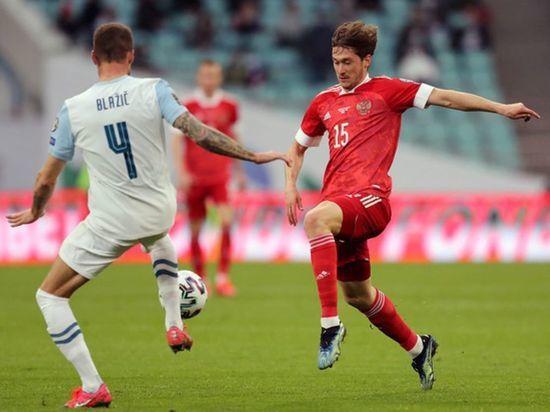 Россия обыграла Словению в матче отбора к ЧМ-2022