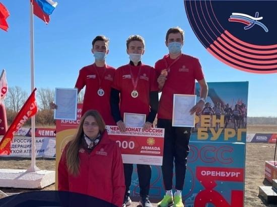 Серебро привезли забайкальские спортсмены с чемпионата России по кроссу