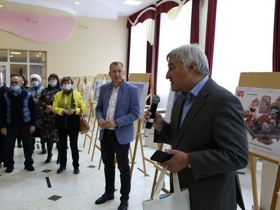 В Алексеевском ДК в РТ с успехом открылась выставка карикатур «Чаяна»
