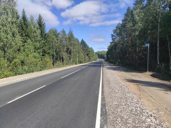 В Марий Эл завершен ремонт на дороге Звенигово – Шелангер – Морки