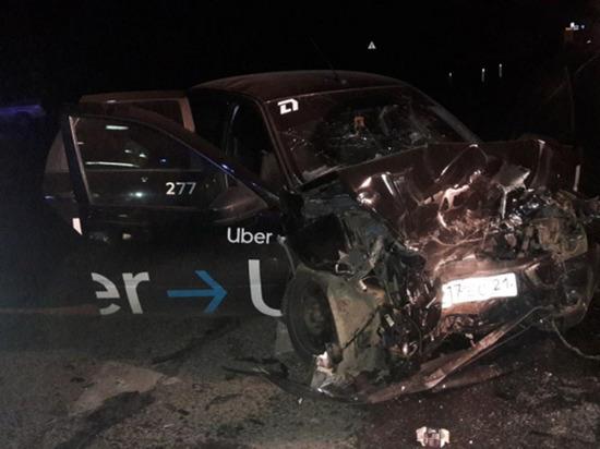 Семь человек пострадали в столкновении двух «Грант» в Чувашии