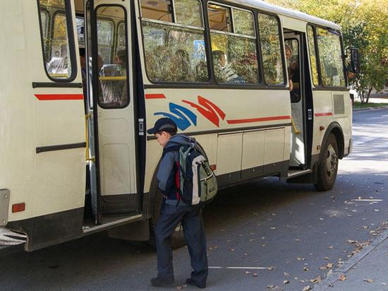 В Иванове детей высаживают из автобусов
