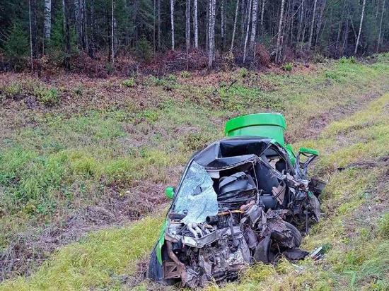 На трассе в Кировской области насмерть разбился водитель «десятки»