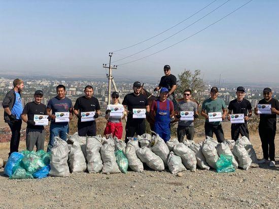 Кыргызстан занял первое место по итогам акции «Всемирный день чистоты»
