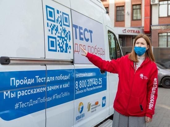 В Йошкар-Оле можно сдать тест на ВИЧ прямо на улице