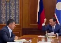 Глава Якутии ударил кулаком по столу, обсуждая ситуацию с жидким кислородом