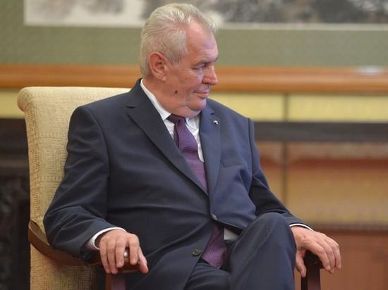 В Чехии назвали замену больному президенту Милошу Земану