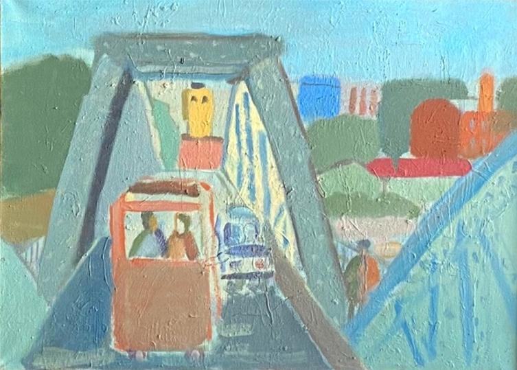На выставке в Пскове представят около сотни работ петербуржского художника, фото-3