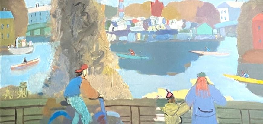 На выставке в Пскове представят около сотни работ петербуржского художника, фото-4