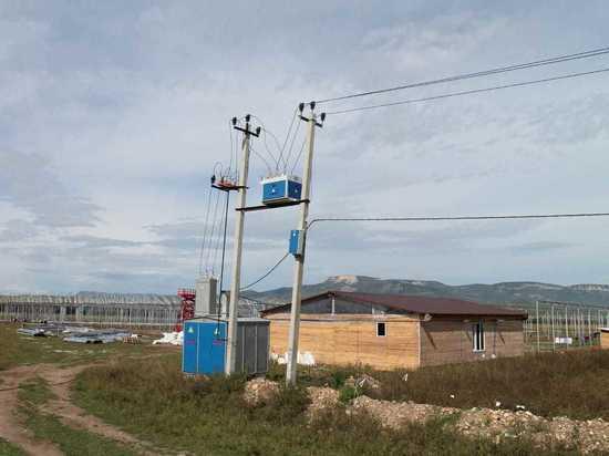 «Россети Северный Кавказ» дали энергию теплицам в Зеленчукском районе КЧР