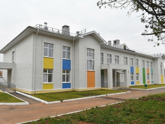 В Удмуртии открыли детсад на 116 мест на переулке Выставочный