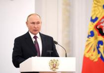 После первого заседания всех депутатов ГД принял в Кремле Владимир Путин