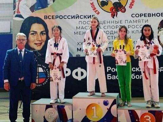 Калмыцкие тхэквондисты завоевали 13 медалей