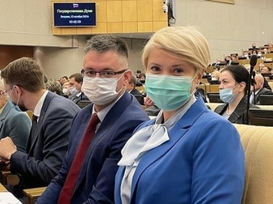 Курские депутаты приняли участие в первом заседании Госдумы восьмого созыва