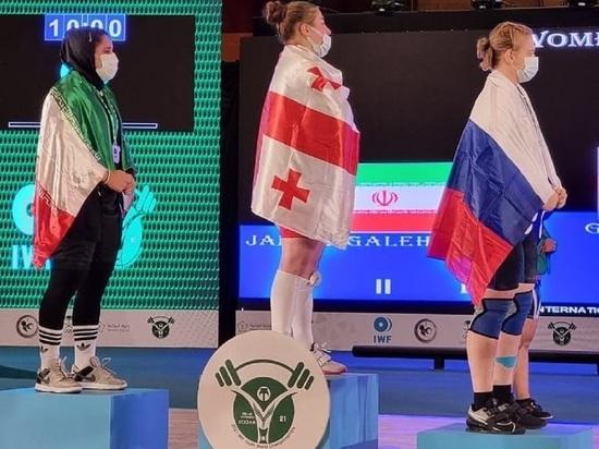 Кузбасская спортсменка завоевала две медали на первенстве мира по тяжелой атлетике