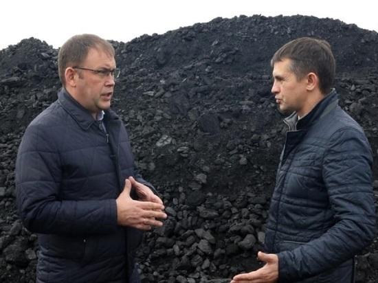 Середюк обнаружил проблемы на кемеровских складах по отпуску угля