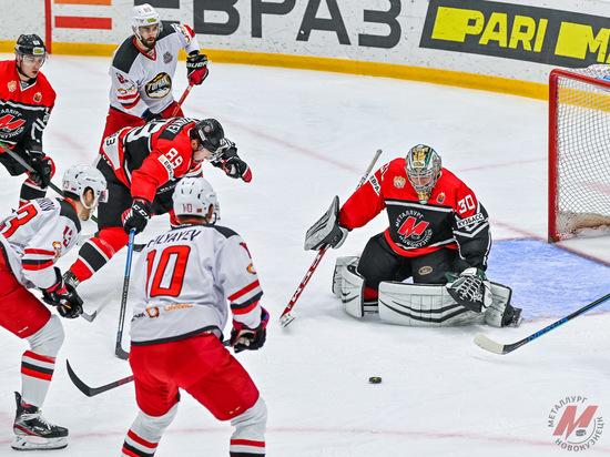 """Хоккейный """"Металлург"""" из Новокузнецка впервые в сезоне одержал три победы подряд"""