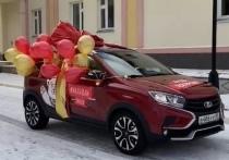 Педиатры будут ездить к юным ямальцам на новой «Ладе» в Тарко-Сале