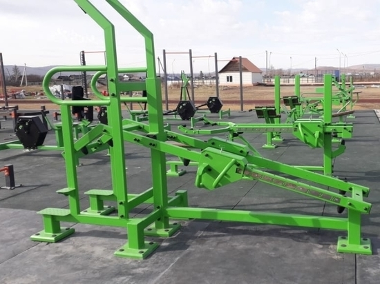 Спортплощадки комплекса ГТО установили в двух райцентрах Забайкалья