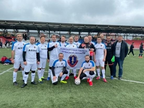 Брянская команда впервые поучаствовала в турнире по мини-футболу среди адвокатов