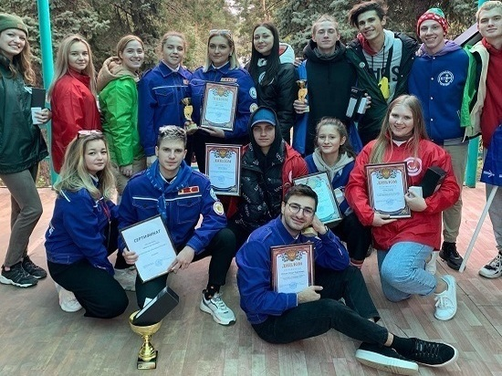 Студенты-педагоги из Ставрополя победили на краевом фестивале студотрядов
