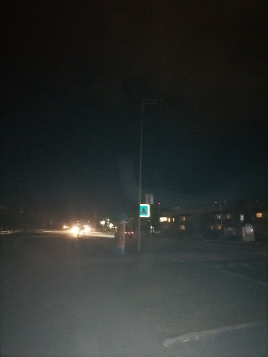 Включить фонари у «зебры» на Киевской просят водители из Ноябрьска