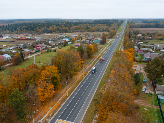 В Калужской области обновили покрытие на 23 километрах трассы А-130