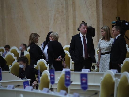 Максима Мейксина выбрали на должность вице-губернатора Петербурга