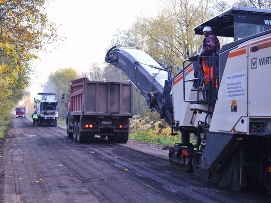 Автодорогу Уторгош – Вшели – Видони принялись ремонтировать досрочно