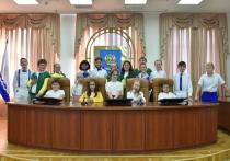 Участники сборных Лиги КВН «Астрахань