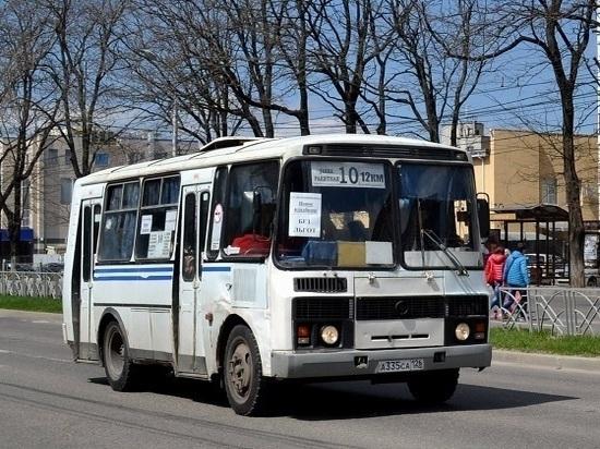 Жители Ставрополя выбирают места остановок общественного транспорта