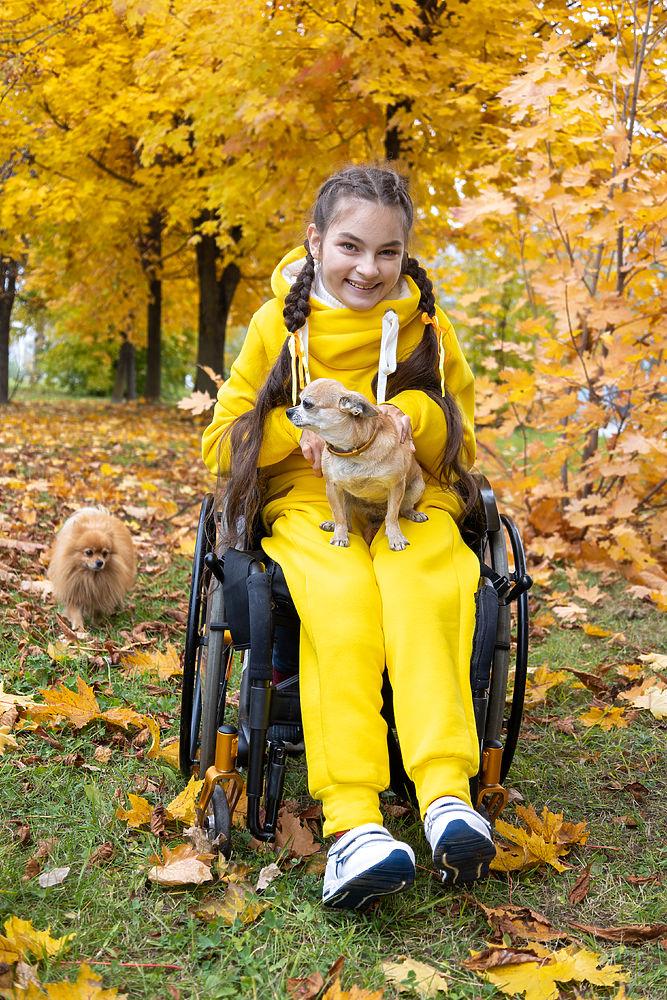 Осенний проект с особенной девочкой из Калуги