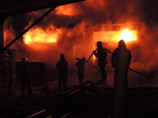 В Цимлянском районе случился пожар в жилом доме