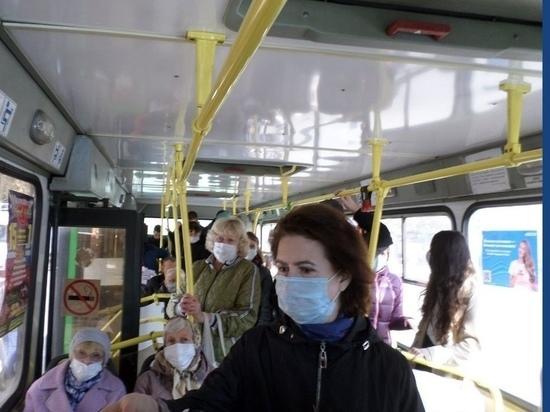 В Тамбове соблюдение масочного режима проверили в более 60 автобусах
