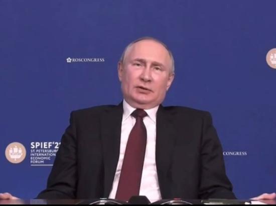 """""""Сапоги всмятку"""": Путин прокомментировал обвинения России в воровстве формулы вакцины"""