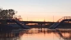 В Ярославской области можно плавать через пешеходный мост