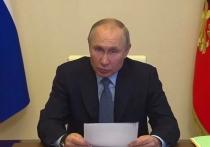 Путин оценил работу