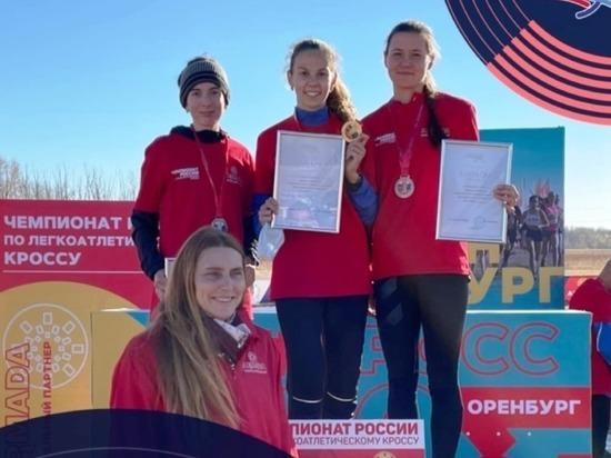 Спортсменка из Пензы завоевала серебро на первенстве России по кроссу