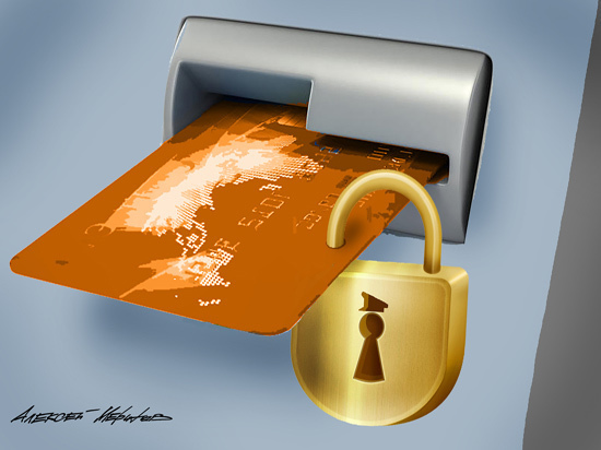 «Ваша карта заблокирована ФСБ»