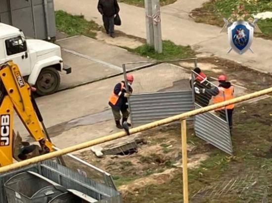 В Автозаводском районе мужчина получил ожоги, провалившись в яму с кипятком