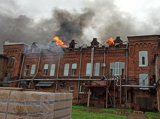 Пожар произошел 26 августа 2020 года на улице III Интернационала
