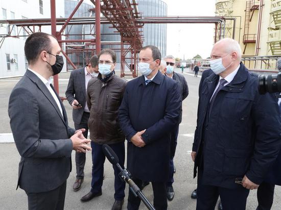 Председатель ЗСК Юрий Бурлачко посетил Армавир с рабочим визитом